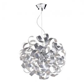 Dar Lighting Rawley 9 Light Ribbon Pendant  (RAW1350)