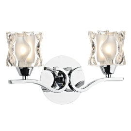 Dar Lighting Zola Double Wall Bracket  (ZOL0950)